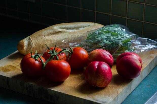 nectarine + tomato panzanella (1 of 11)