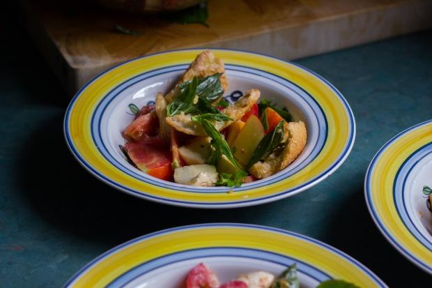 nectarine + tomato panzanella (10 of 11)