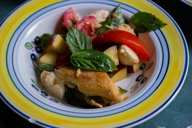 nectarine + tomato panzanella (9 of 11)